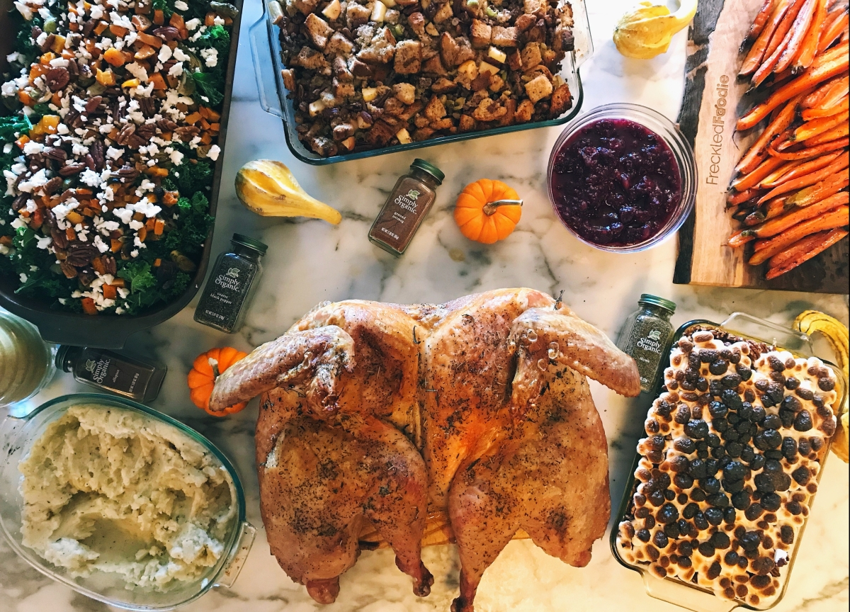 Freckled Foodie's Friendsgiving