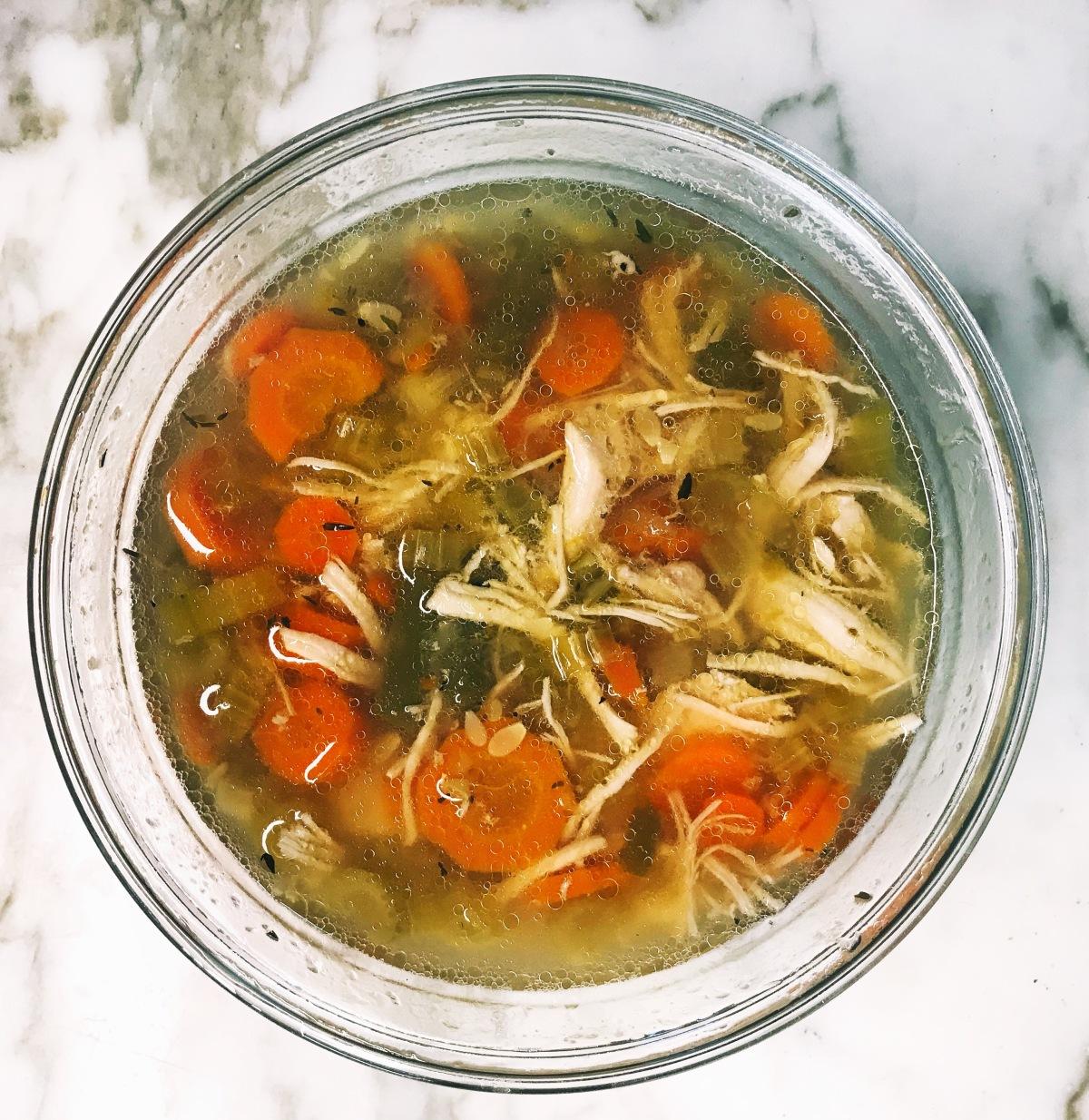 Chicken Vegetable Instant PotSoup